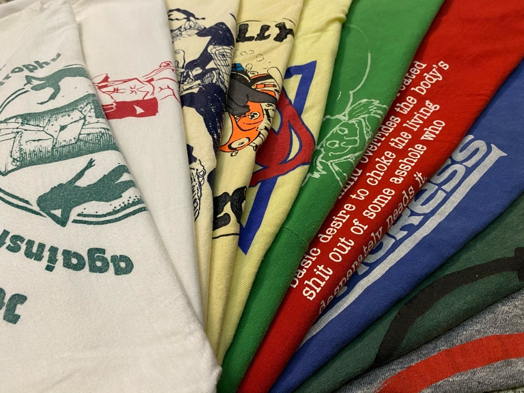 7月18日(土)マグネッツ大阪店!T-Shirt & Bandana入荷日!! #1 VinT Part1編!GO・CATS.!,THE FONZ,7UP&Hanesport!!_c0078587_11455008.jpg