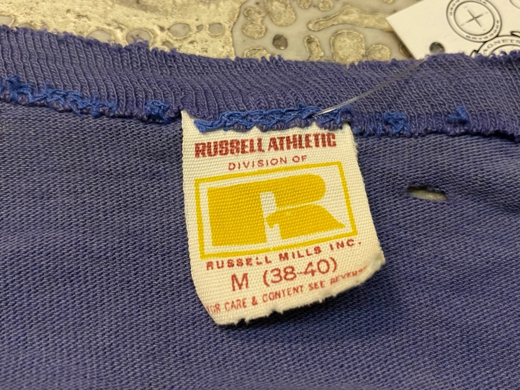 7月18日(土)マグネッツ大阪店!T-Shirt & Bandana入荷日!! #2 VinT Part2編! Russell,Ringer & Athletic!!_c0078587_12580064.jpg