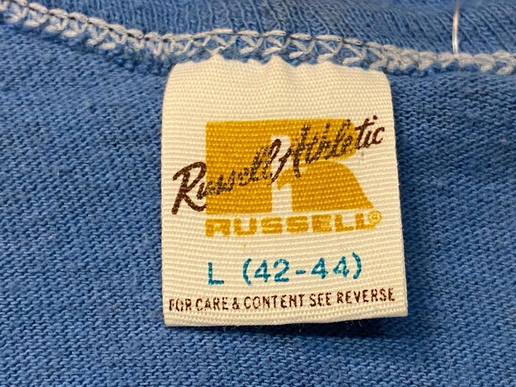 7月18日(土)マグネッツ大阪店!T-Shirt & Bandana入荷日!! #2 VinT Part2編! Russell,Ringer & Athletic!!_c0078587_12595056.jpg