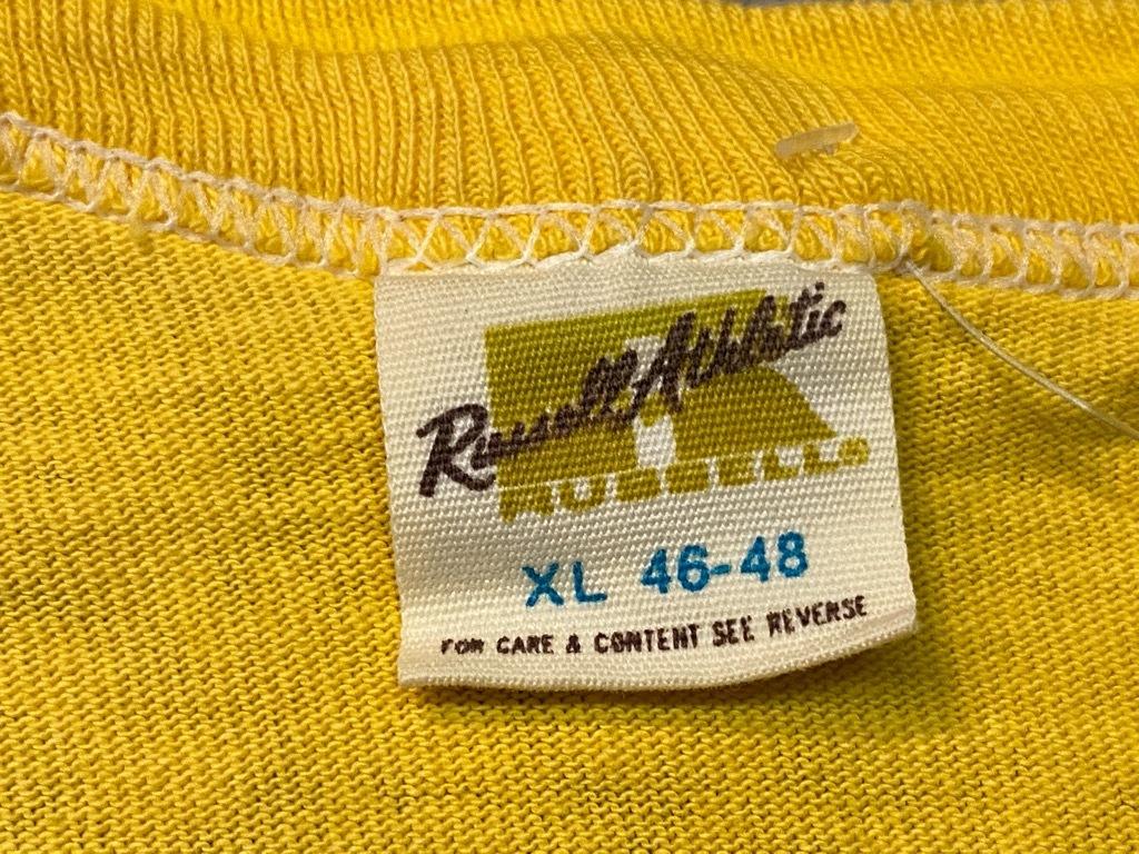7月18日(土)マグネッツ大阪店!T-Shirt & Bandana入荷日!! #2 VinT Part2編! Russell,Ringer & Athletic!!_c0078587_13002557.jpg