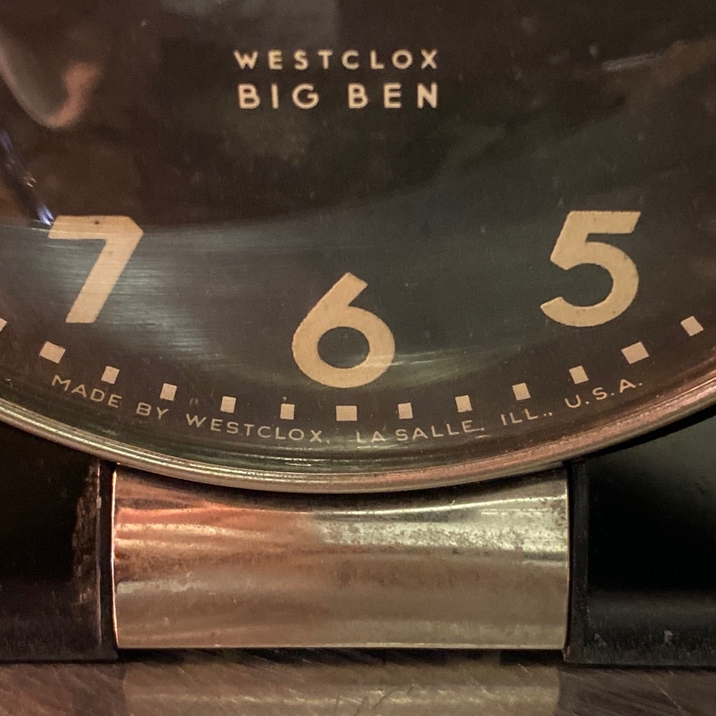 マグネッツ神戸店 7/18(土)アメリカン雑貨ONLINE入荷! #2 WestClox \'\'BIGBEN\'\'_c0078587_17043473.jpg