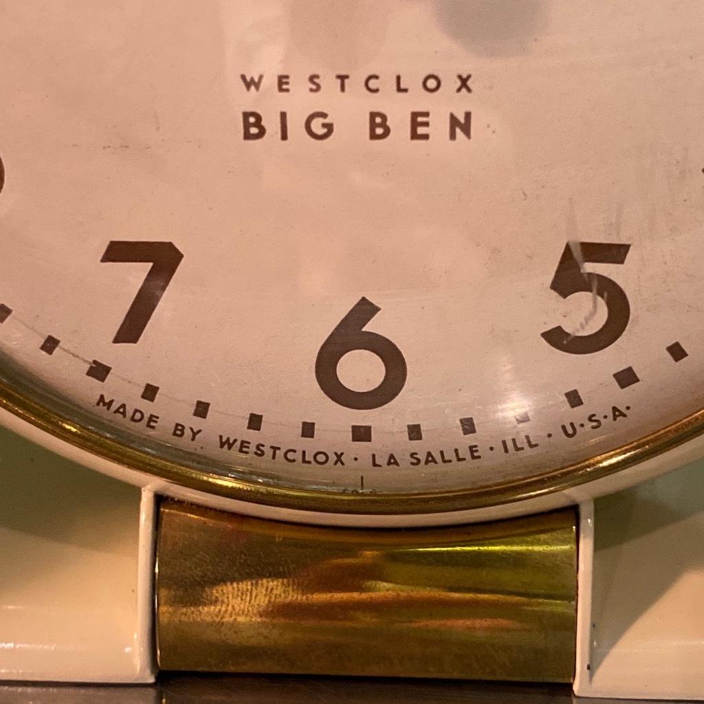 マグネッツ神戸店 7/18(土)アメリカン雑貨ONLINE入荷! #2 WestClox \'\'BIGBEN\'\'_c0078587_17202629.jpg