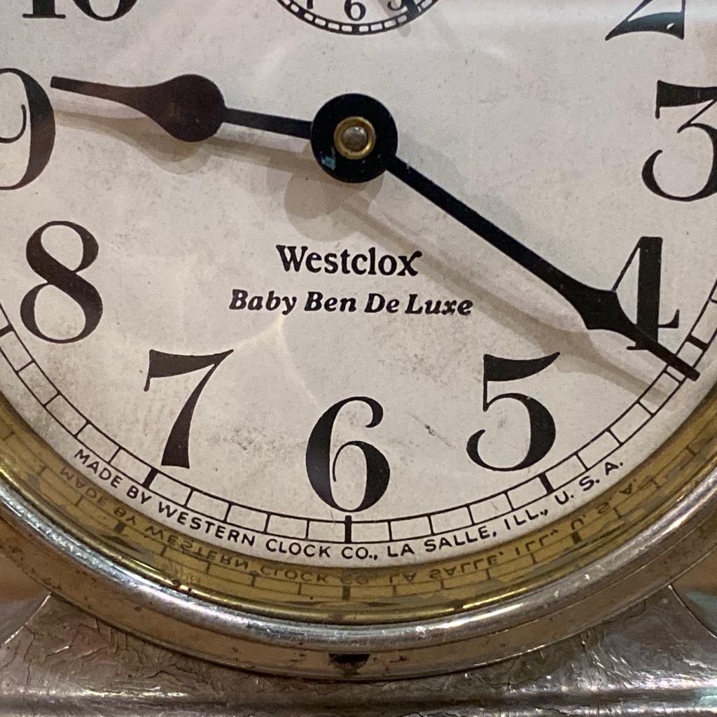 マグネッツ神戸店 7/18(土)アメリカン雑貨ONLINE入荷! #3 WestClox \'\'BabyBen\'\'_c0078587_20155151.jpeg