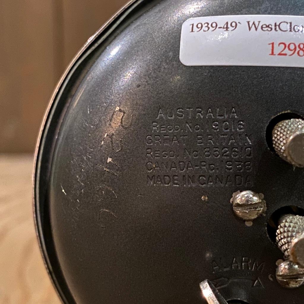 マグネッツ神戸店 7/18(土)アメリカン雑貨ONLINE入荷! #3 WestClox \'\'BabyBen\'\'_c0078587_20572992.jpeg