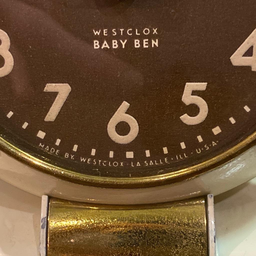 マグネッツ神戸店 7/18(土)アメリカン雑貨ONLINE入荷! #3 WestClox \'\'BabyBen\'\'_c0078587_21145263.jpeg