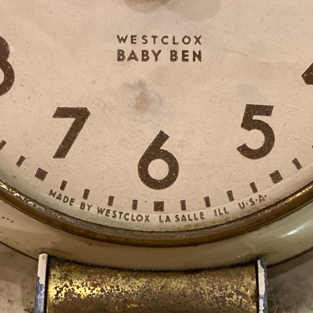 マグネッツ神戸店 7/18(土)アメリカン雑貨ONLINE入荷! #3 WestClox \'\'BabyBen\'\'_c0078587_21174811.jpeg