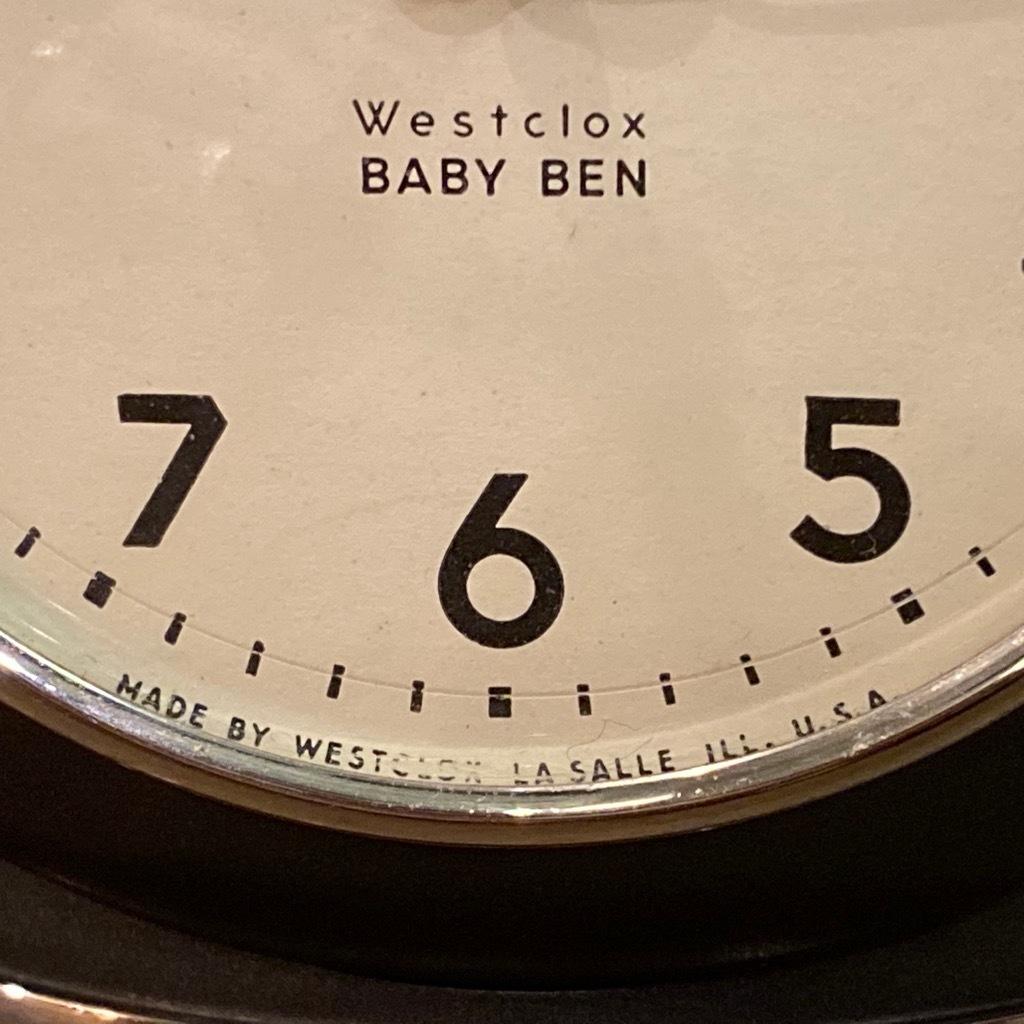 マグネッツ神戸店 7/18(土)アメリカン雑貨ONLINE入荷! #3 WestClox \'\'BabyBen\'\'_c0078587_21230494.jpeg