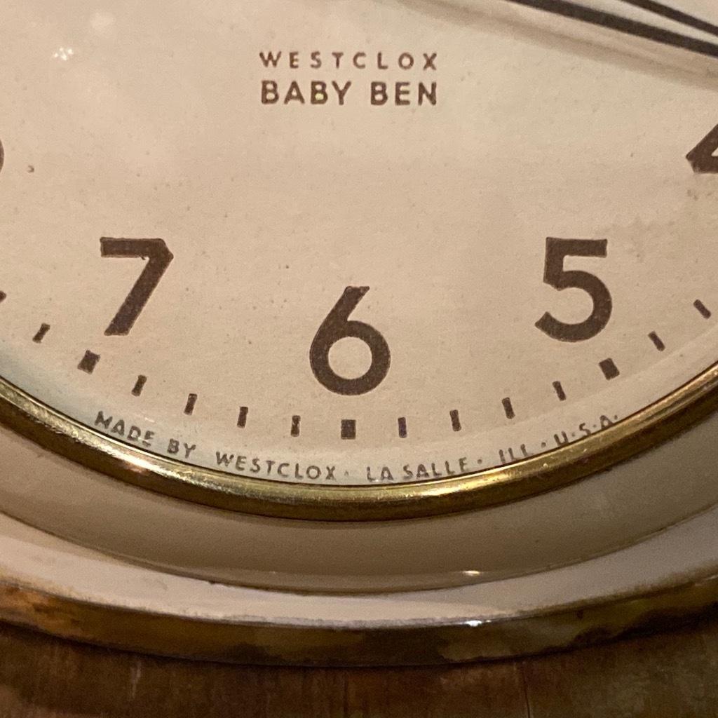 マグネッツ神戸店 7/18(土)アメリカン雑貨ONLINE入荷! #3 WestClox \'\'BabyBen\'\'_c0078587_21271362.jpeg