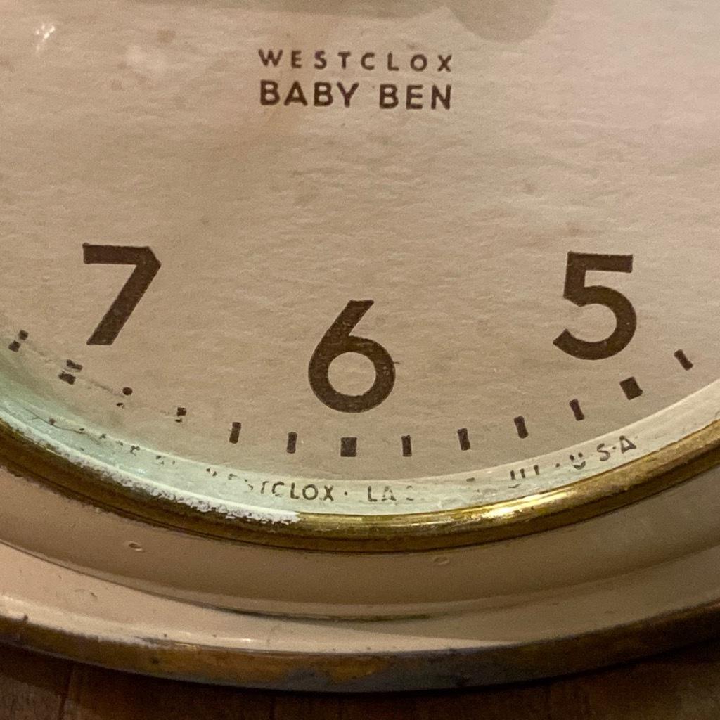 マグネッツ神戸店 7/18(土)アメリカン雑貨ONLINE入荷! #3 WestClox \'\'BabyBen\'\'_c0078587_21311448.jpeg
