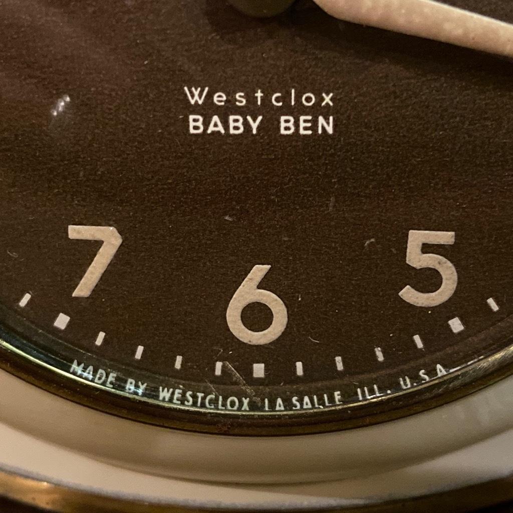 マグネッツ神戸店 7/18(土)アメリカン雑貨ONLINE入荷! #3 WestClox \'\'BabyBen\'\'_c0078587_21373139.jpeg