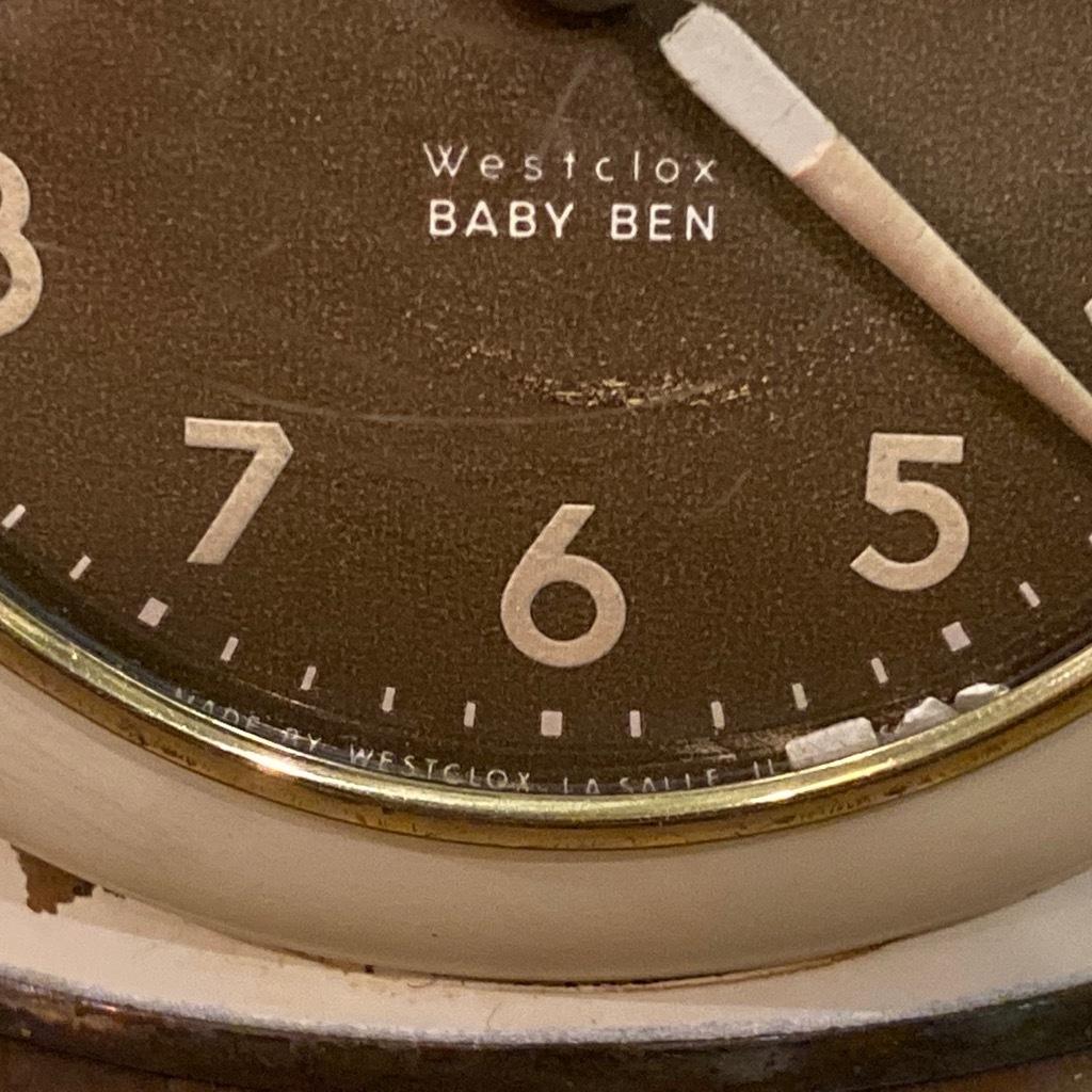 マグネッツ神戸店 7/18(土)アメリカン雑貨ONLINE入荷! #3 WestClox \'\'BabyBen\'\'_c0078587_21413131.jpeg