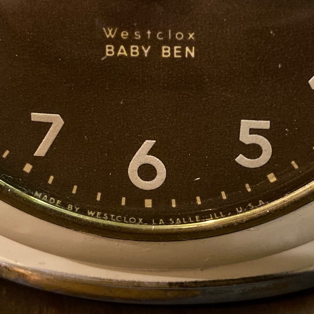 マグネッツ神戸店 7/18(土)アメリカン雑貨ONLINE入荷! #3 WestClox \'\'BabyBen\'\'_c0078587_21444900.jpeg