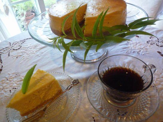 チーズケーキを焼いて・・♪_d0147611_12315099.jpg