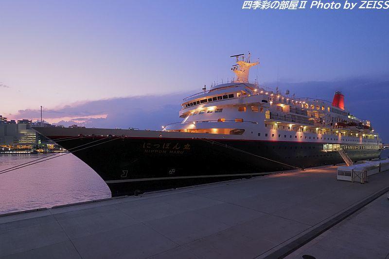 横浜港新港ふ頭に停泊中の客船にっぽん丸(2)_d0358854_08492439.jpg