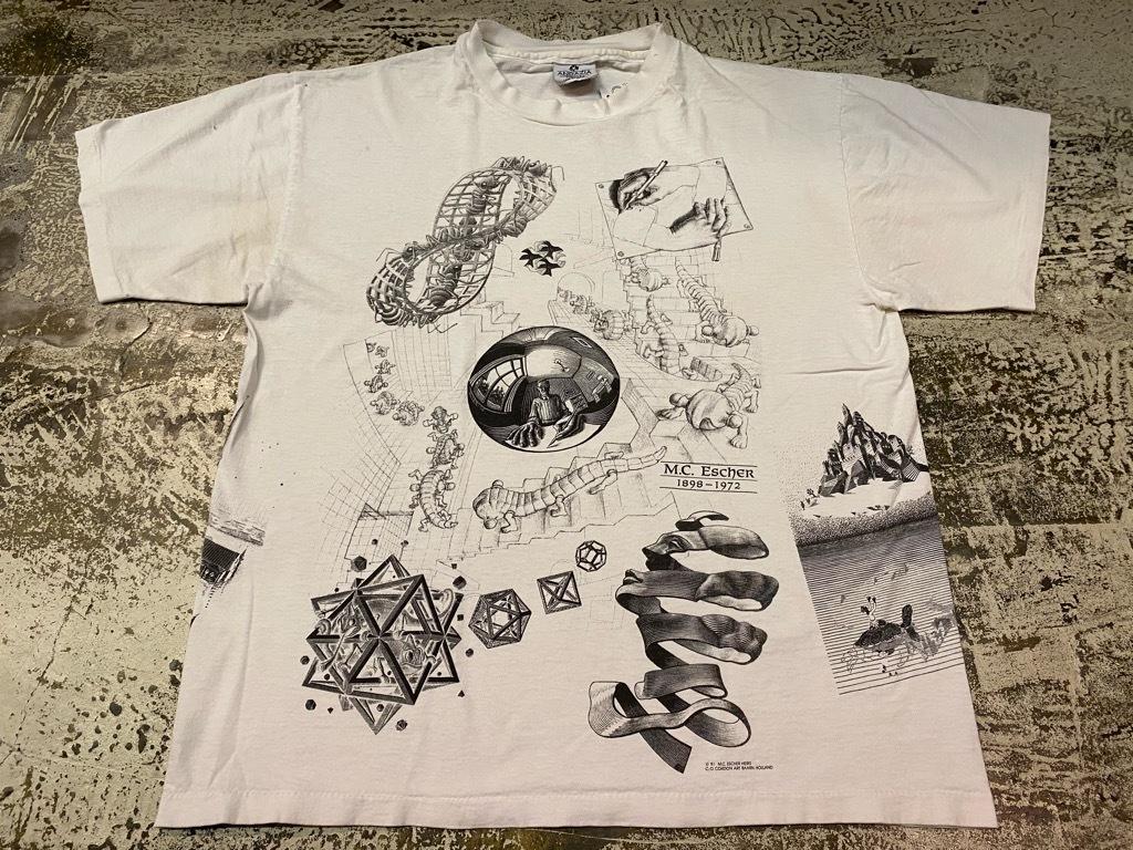 7月18日(土)マグネッツ大阪店!T-Shirt & Bandana入荷日!! #4 オールドT Part2 編! M.C.Escher,Snoopy,SCREEN STARS & Military!_c0078587_13335583.jpg