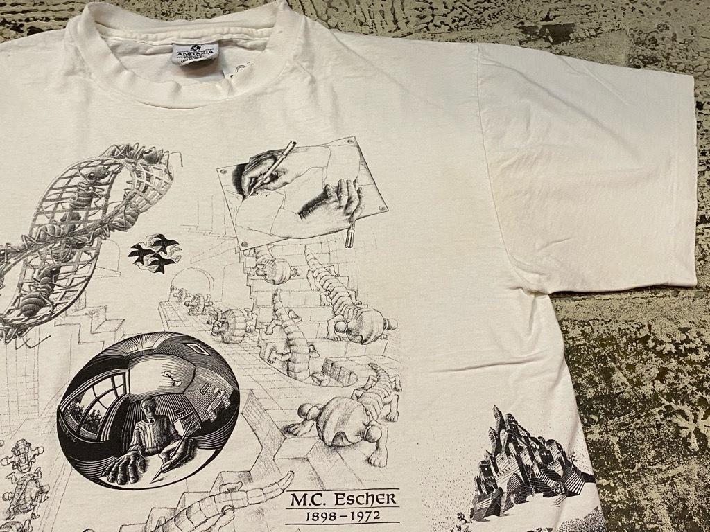 7月18日(土)マグネッツ大阪店!T-Shirt & Bandana入荷日!! #4 オールドT Part2 編! M.C.Escher,Snoopy,SCREEN STARS & Military!_c0078587_13335920.jpg