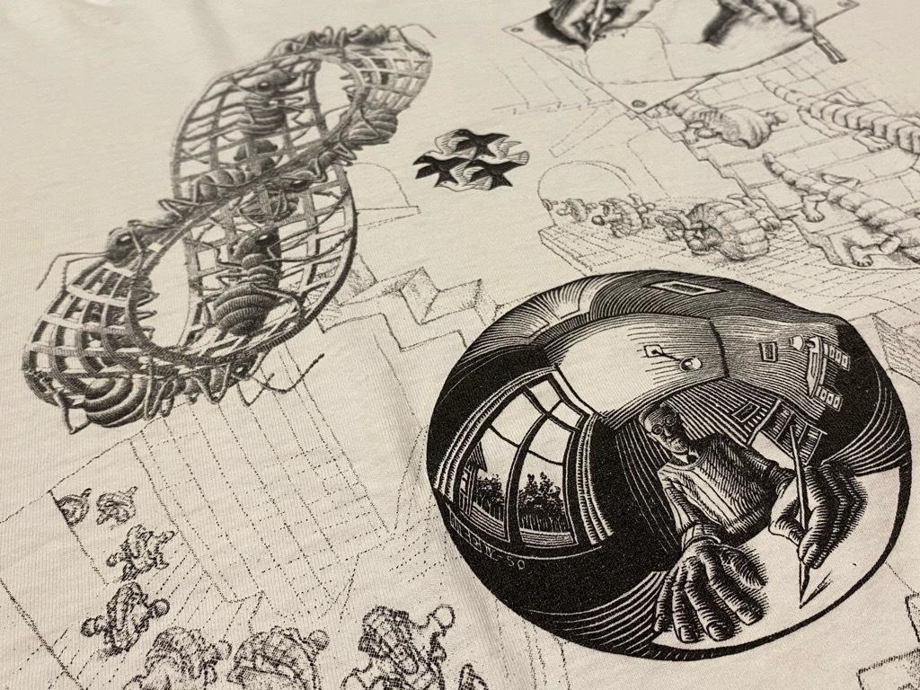 7月18日(土)マグネッツ大阪店!T-Shirt & Bandana入荷日!! #4 オールドT Part2 編! M.C.Escher,Snoopy,SCREEN STARS & Military!_c0078587_13340850.jpg