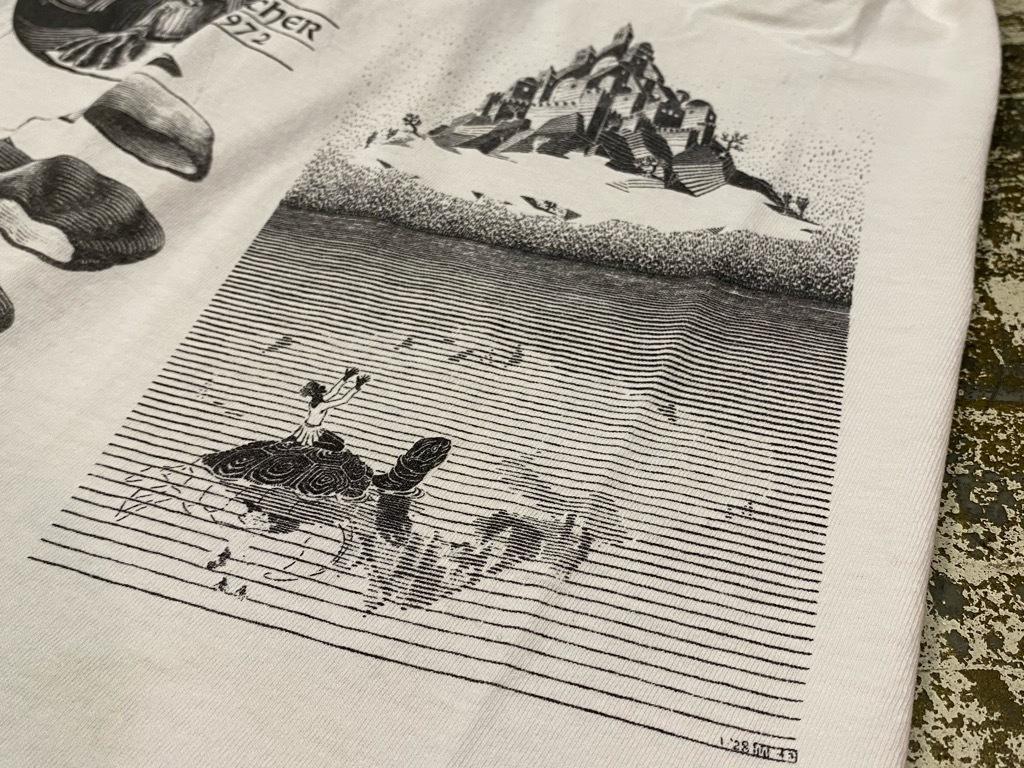 7月18日(土)マグネッツ大阪店!T-Shirt & Bandana入荷日!! #4 オールドT Part2 編! M.C.Escher,Snoopy,SCREEN STARS & Military!_c0078587_13340928.jpg