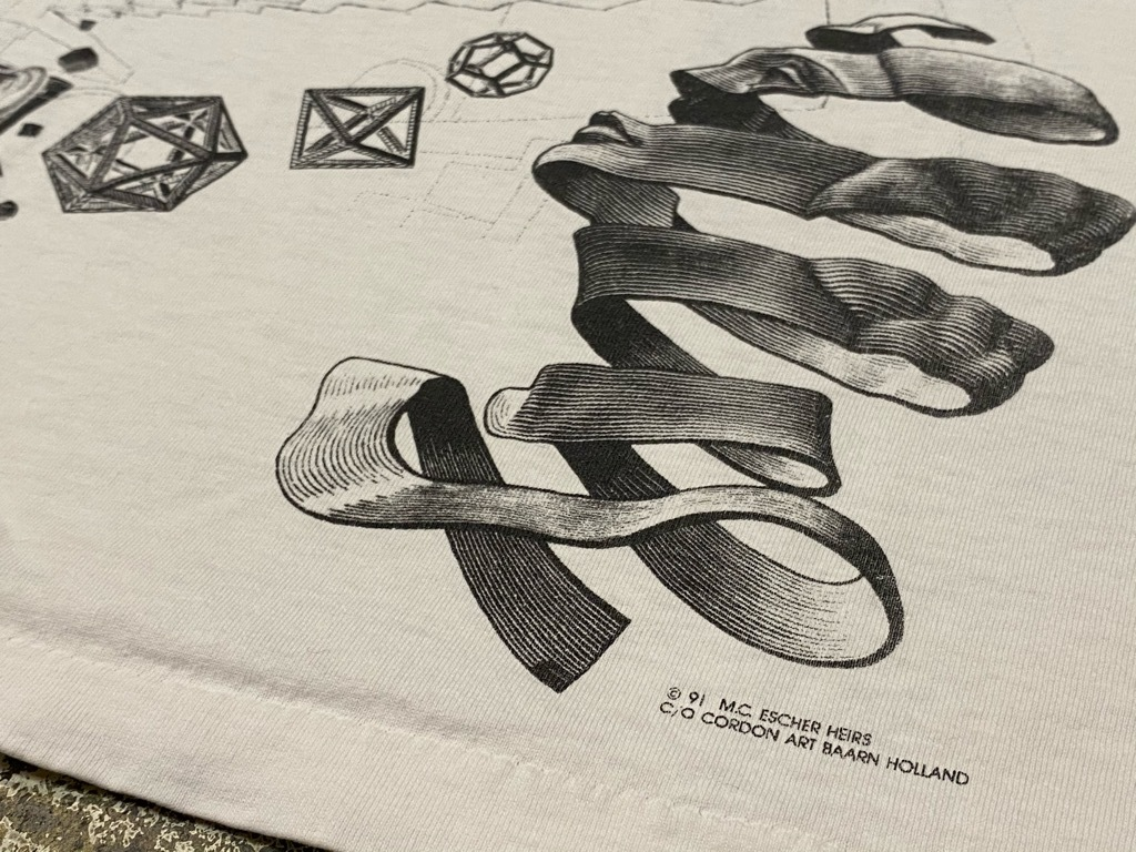 7月18日(土)マグネッツ大阪店!T-Shirt & Bandana入荷日!! #4 オールドT Part2 編! M.C.Escher,Snoopy,SCREEN STARS & Military!_c0078587_13340941.jpg