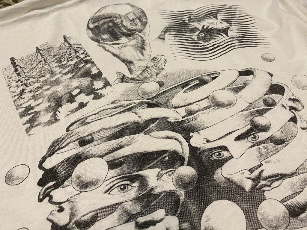 7月18日(土)マグネッツ大阪店!T-Shirt & Bandana入荷日!! #4 オールドT Part2 編! M.C.Escher,Snoopy,SCREEN STARS & Military!_c0078587_13341219.jpg
