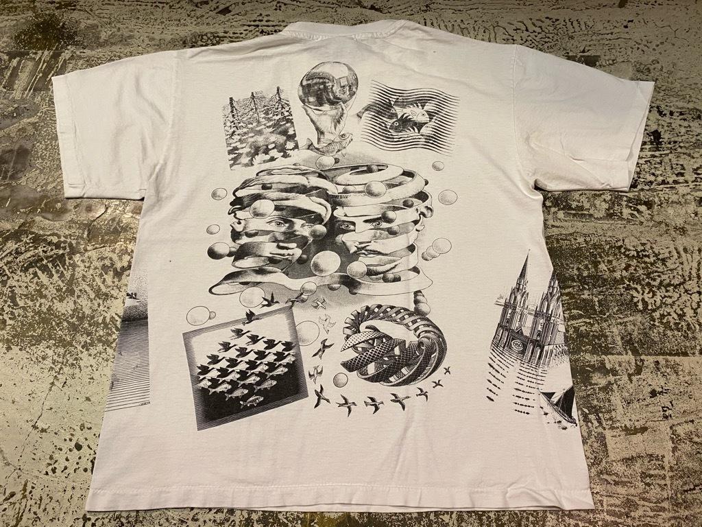 7月18日(土)マグネッツ大阪店!T-Shirt & Bandana入荷日!! #4 オールドT Part2 編! M.C.Escher,Snoopy,SCREEN STARS & Military!_c0078587_13341262.jpg