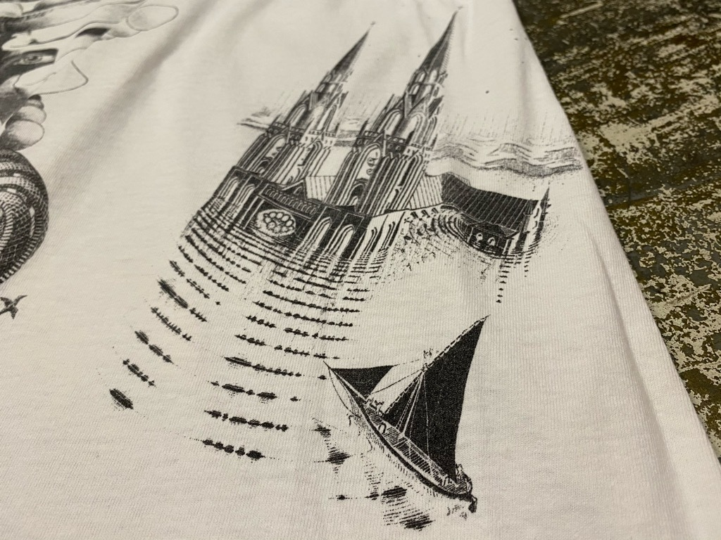 7月18日(土)マグネッツ大阪店!T-Shirt & Bandana入荷日!! #4 オールドT Part2 編! M.C.Escher,Snoopy,SCREEN STARS & Military!_c0078587_13341269.jpg