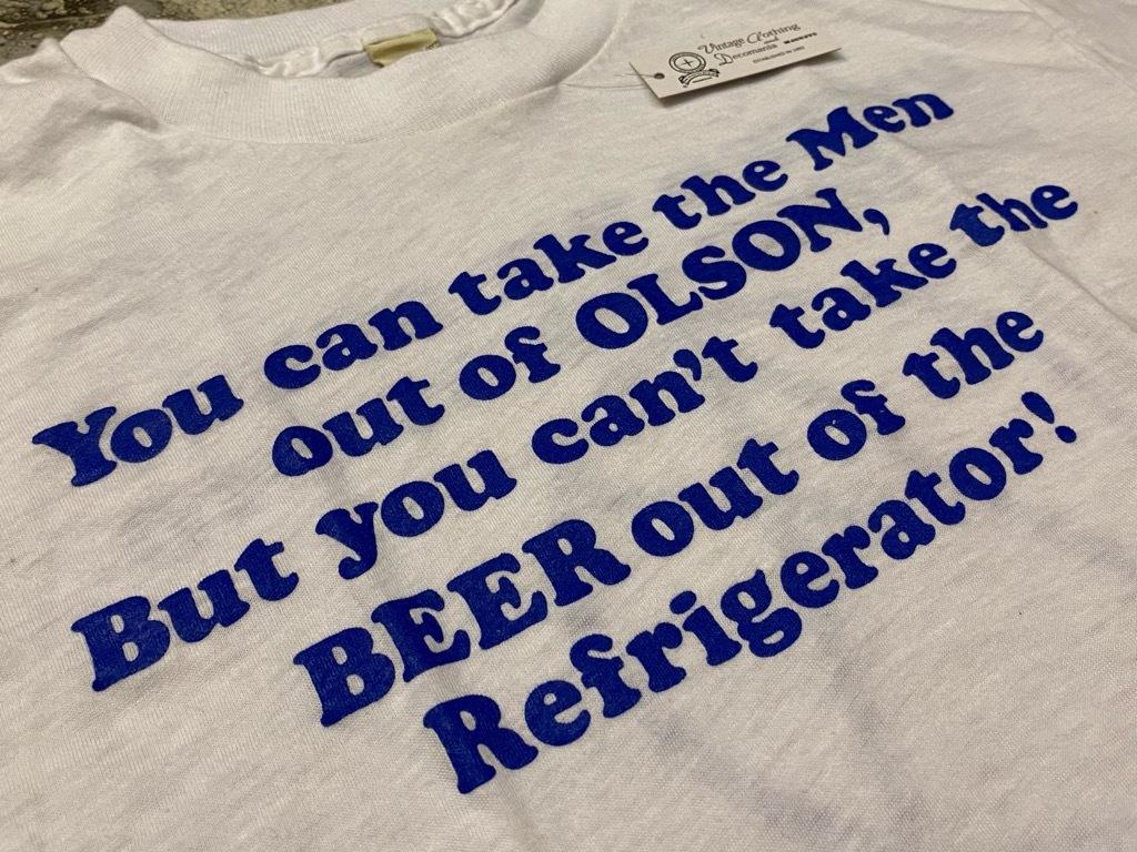 7月18日(土)マグネッツ大阪店!T-Shirt & Bandana入荷日!! #4 オールドT Part2 編! M.C.Escher,Snoopy,SCREEN STARS & Military!_c0078587_13381061.jpg