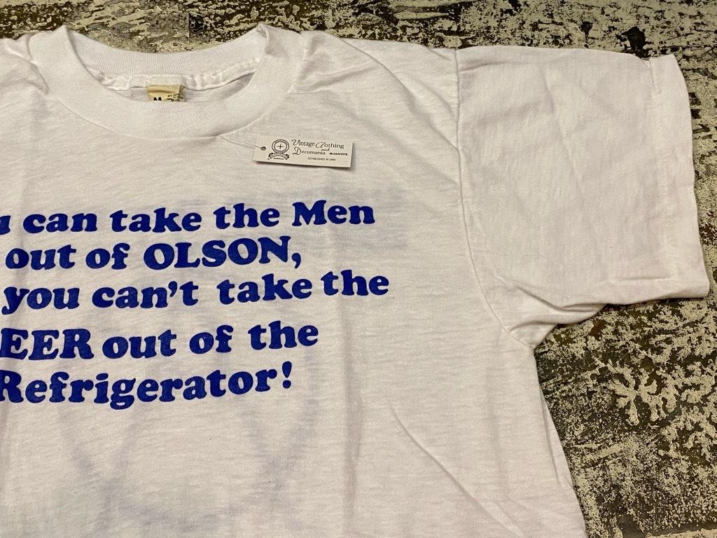 7月18日(土)マグネッツ大阪店!T-Shirt & Bandana入荷日!! #4 オールドT Part2 編! M.C.Escher,Snoopy,SCREEN STARS & Military!_c0078587_13381069.jpg