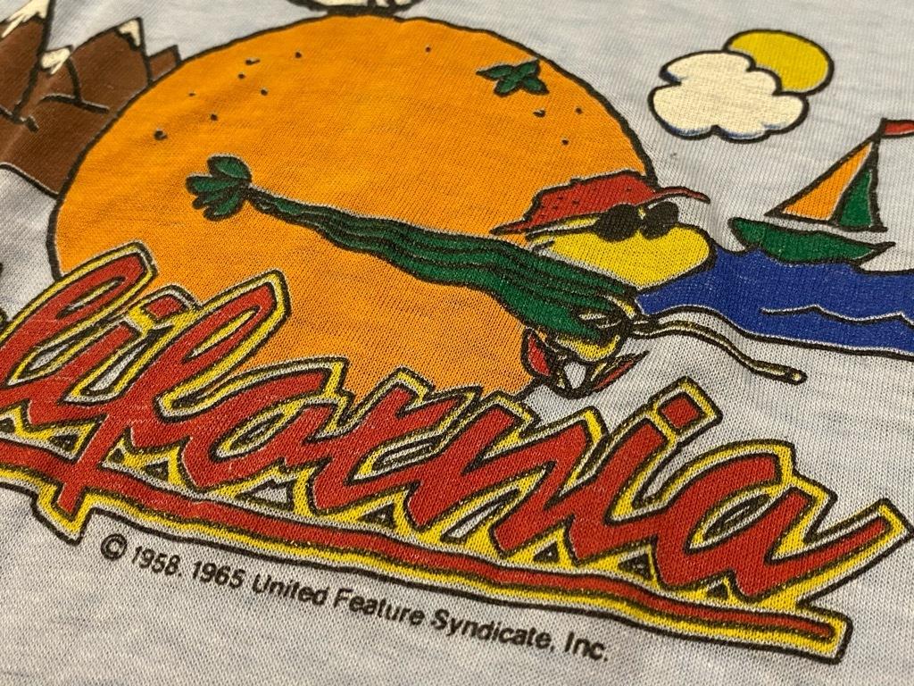 7月18日(土)マグネッツ大阪店!T-Shirt & Bandana入荷日!! #4 オールドT Part2 編! M.C.Escher,Snoopy,SCREEN STARS & Military!_c0078587_13393579.jpg