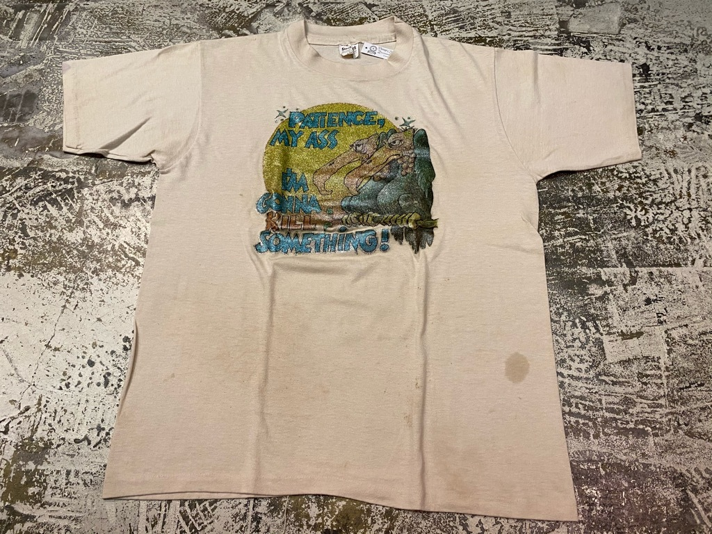 7月18日(土)マグネッツ大阪店!T-Shirt & Bandana入荷日!! #4 オールドT Part2 編! M.C.Escher,Snoopy,SCREEN STARS & Military!_c0078587_13412741.jpg