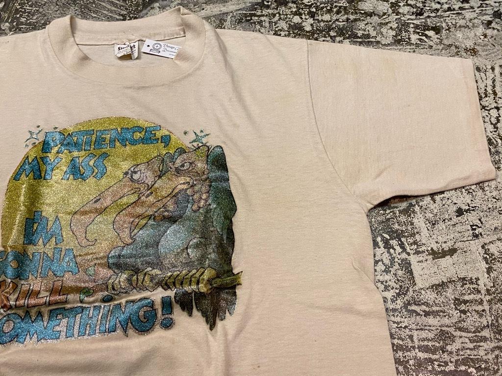 7月18日(土)マグネッツ大阪店!T-Shirt & Bandana入荷日!! #4 オールドT Part2 編! M.C.Escher,Snoopy,SCREEN STARS & Military!_c0078587_13412753.jpg