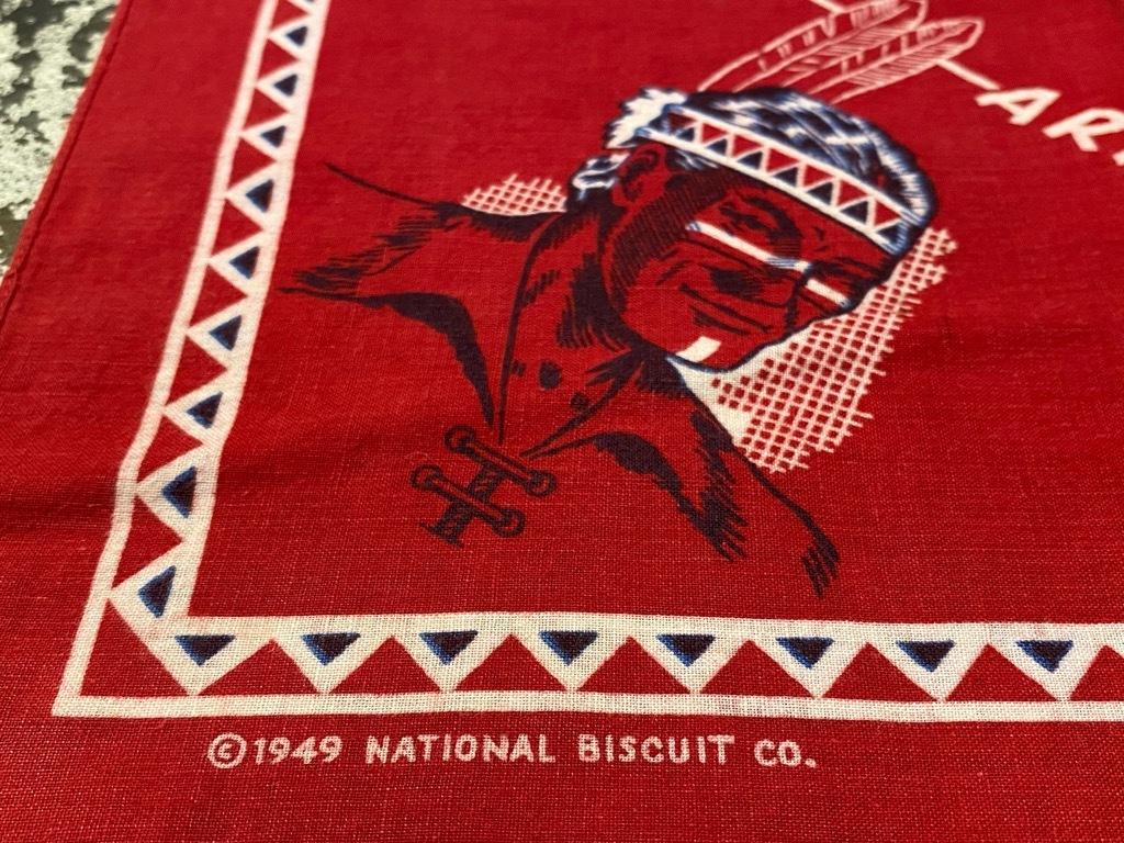 """7月18日(土)マグネッツ大阪店!T-Shirt & Bandana入荷日!! #5 VintageBandana 編! 1949 \""""Straight Arrow\"""" & ElephantBrand!_c0078587_14172383.jpg"""
