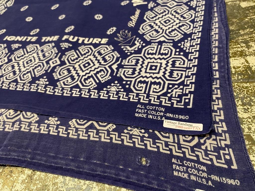 """7月18日(土)マグネッツ大阪店!T-Shirt & Bandana入荷日!! #5 VintageBandana 編! 1949 \""""Straight Arrow\"""" & ElephantBrand!_c0078587_16265515.jpg"""