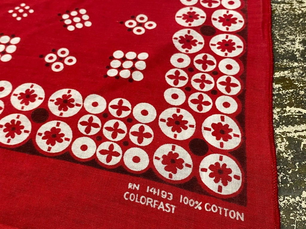 """7月18日(土)マグネッツ大阪店!T-Shirt & Bandana入荷日!! #5 VintageBandana 編! 1949 \""""Straight Arrow\"""" & ElephantBrand!_c0078587_16484318.jpg"""