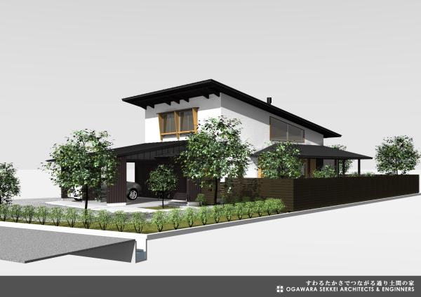 通り土間の家 イメージパース-3_f0091692_09341072.jpg