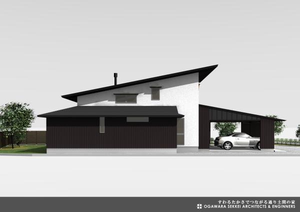 通り土間の家 イメージパース-3_f0091692_09344865.jpg