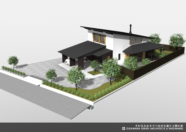 通り土間の家 イメージパース-3_f0091692_09350444.jpg