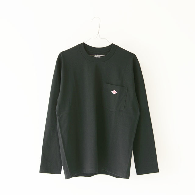 DANTON [ダントン] M\'s 空紡天竺 POCEKT L/S TEE SOLID [JD-9077] ポケットTシャツ・無地・MEN\'S _f0051306_16093724.jpg
