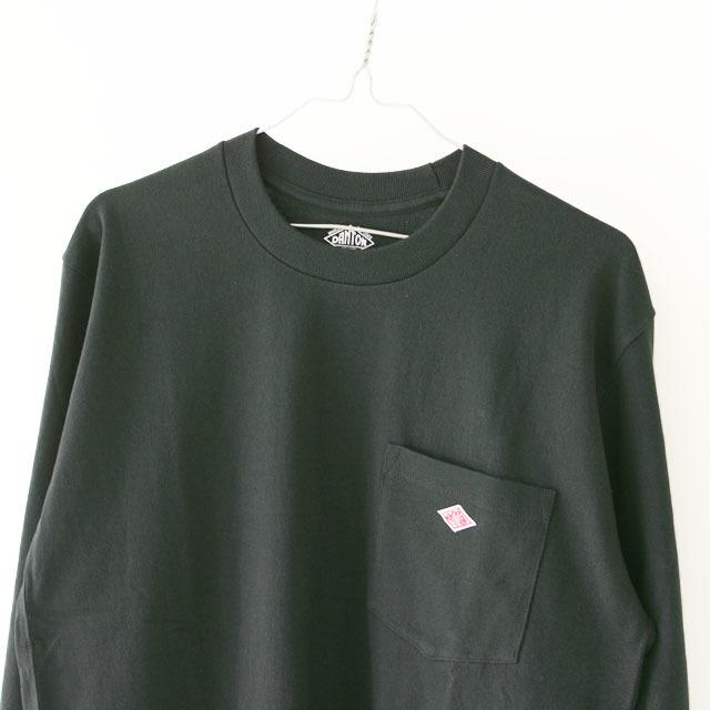DANTON [ダントン] M\'s 空紡天竺 POCEKT L/S TEE SOLID [JD-9077] ポケットTシャツ・無地・MEN\'S _f0051306_16093737.jpg