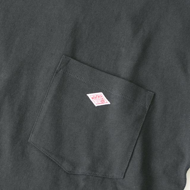 DANTON [ダントン] M\'s 空紡天竺 POCEKT L/S TEE SOLID [JD-9077] ポケットTシャツ・無地・MEN\'S _f0051306_16093777.jpg