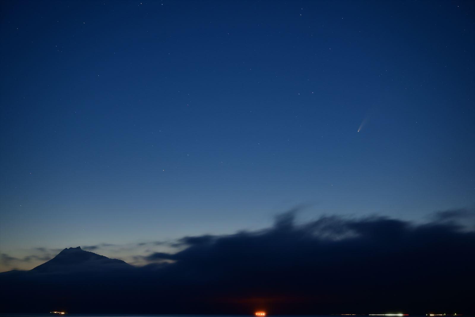ネオワイズ 彗星 札幌