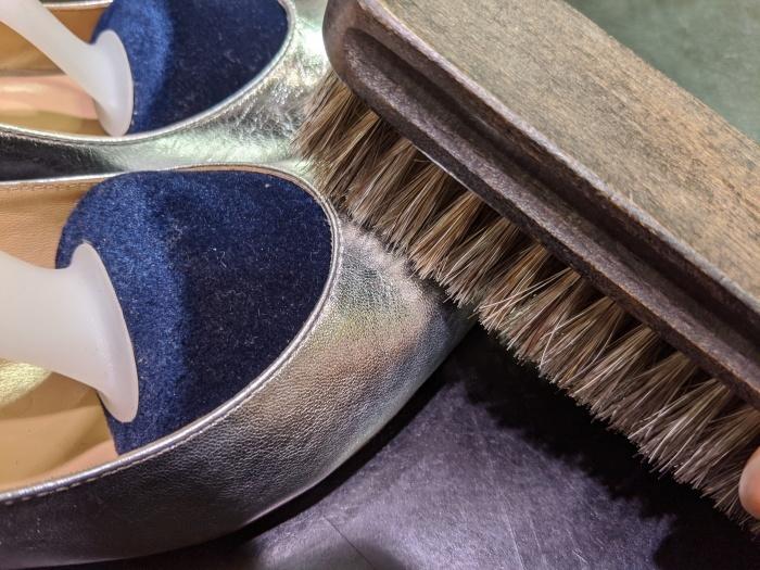 本日の磨き靴。_b0226322_18442020.jpg