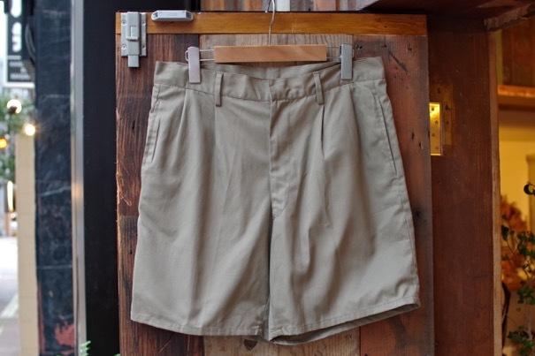 1980s Italian Military Chino Shorts _d0257333_19301729.jpg
