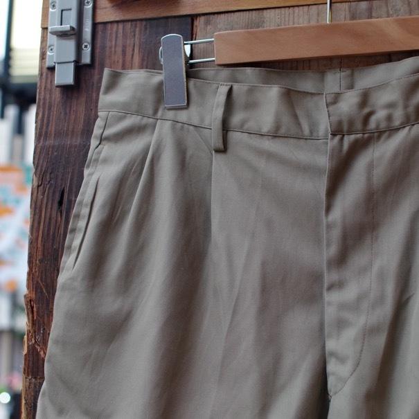 1980s Italian Military Chino Shorts _d0257333_19315423.jpg
