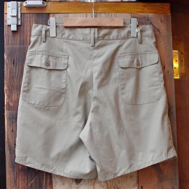 1980s Italian Military Chino Shorts _d0257333_19323993.jpg