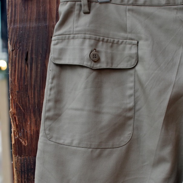 1980s Italian Military Chino Shorts _d0257333_19324840.jpg