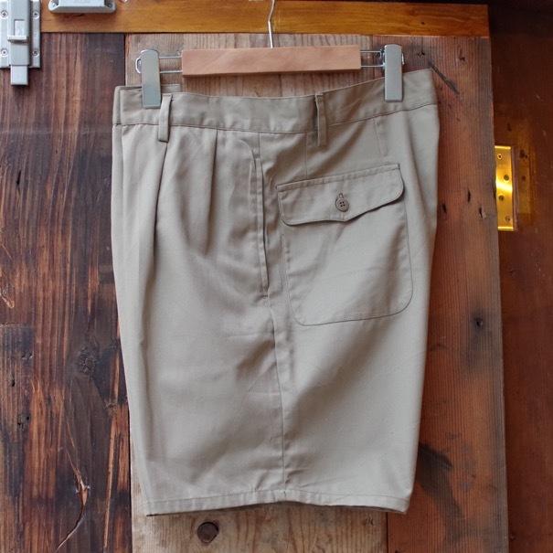 1980s Italian Military Chino Shorts _d0257333_19330560.jpg