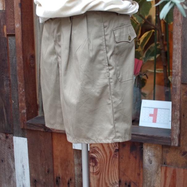 1980s Italian Military Chino Shorts _d0257333_19333254.jpg