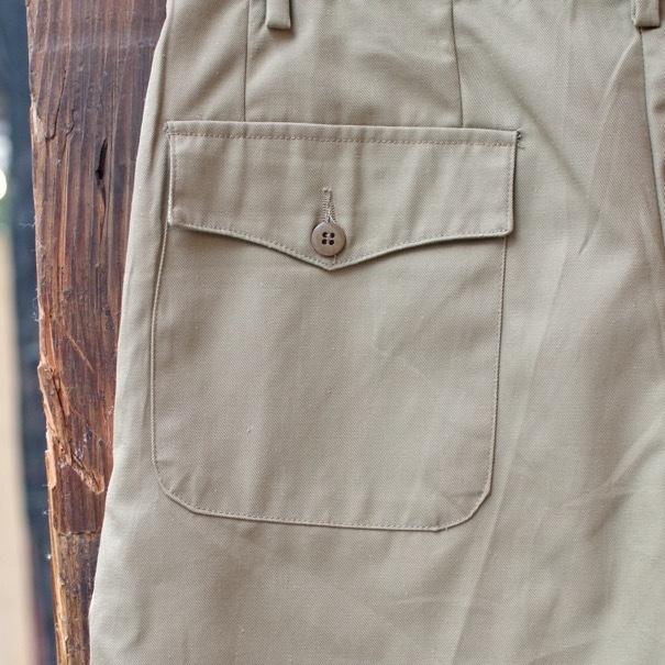 1980s Italian Military Chino Shorts _d0257333_19343087.jpg