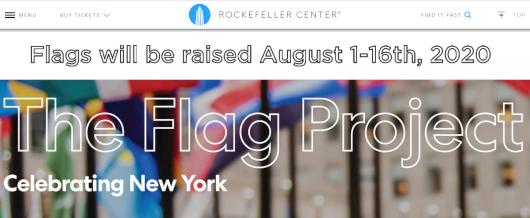 NYのロックフェラー・センターの192本の旗でアート展(The Flag Project)開催へ_b0007805_23065506.jpg